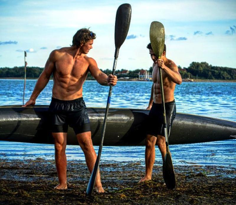 Interview with canoe polo athlete Andreas Lund from Denmark