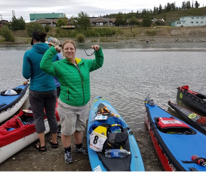 Esther Wheeler first female to complete Yukon River Quest in solo